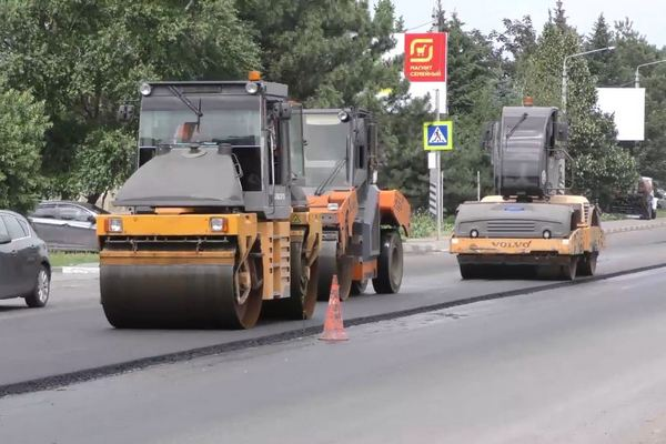 В Азове завершился ремонт ул. Московской