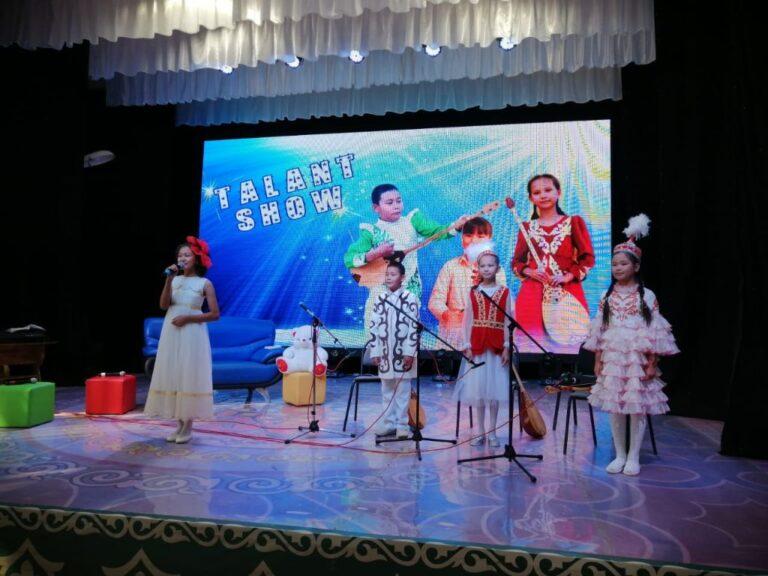 «Tаlant show» от байганинцев