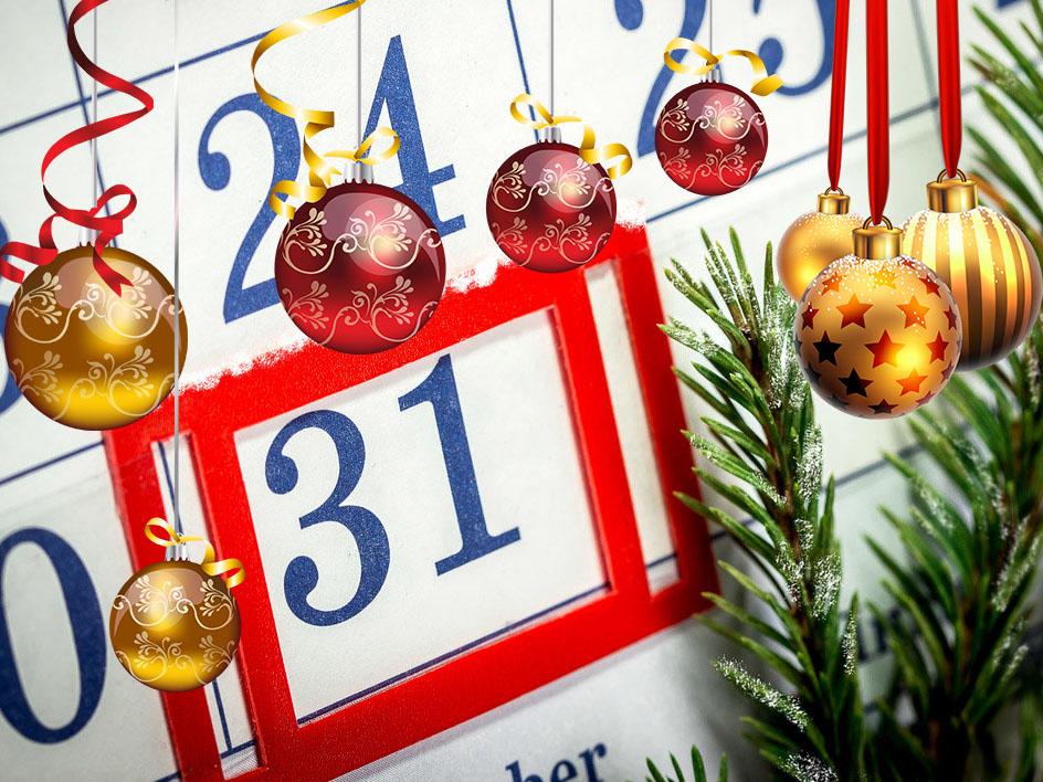 31 декабря сделали выходным днем