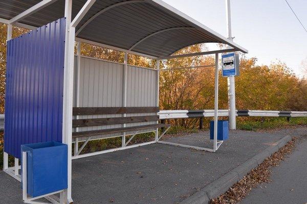 В Азовском районе появятся новые автобусные остановки.