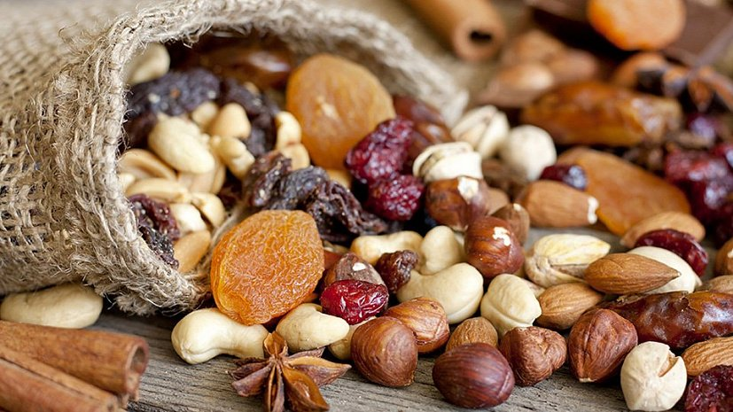 Все о пользе орехов и сухофруктов