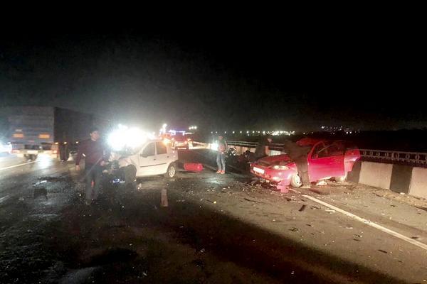 Ростов — Азов в аварии пострадали пятеро