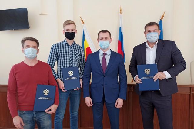 Азовские активисты отмечены на федеральном уровне