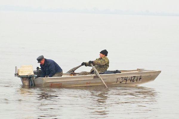 28 октября в Азове на Дону едва не погибли два рыбака.