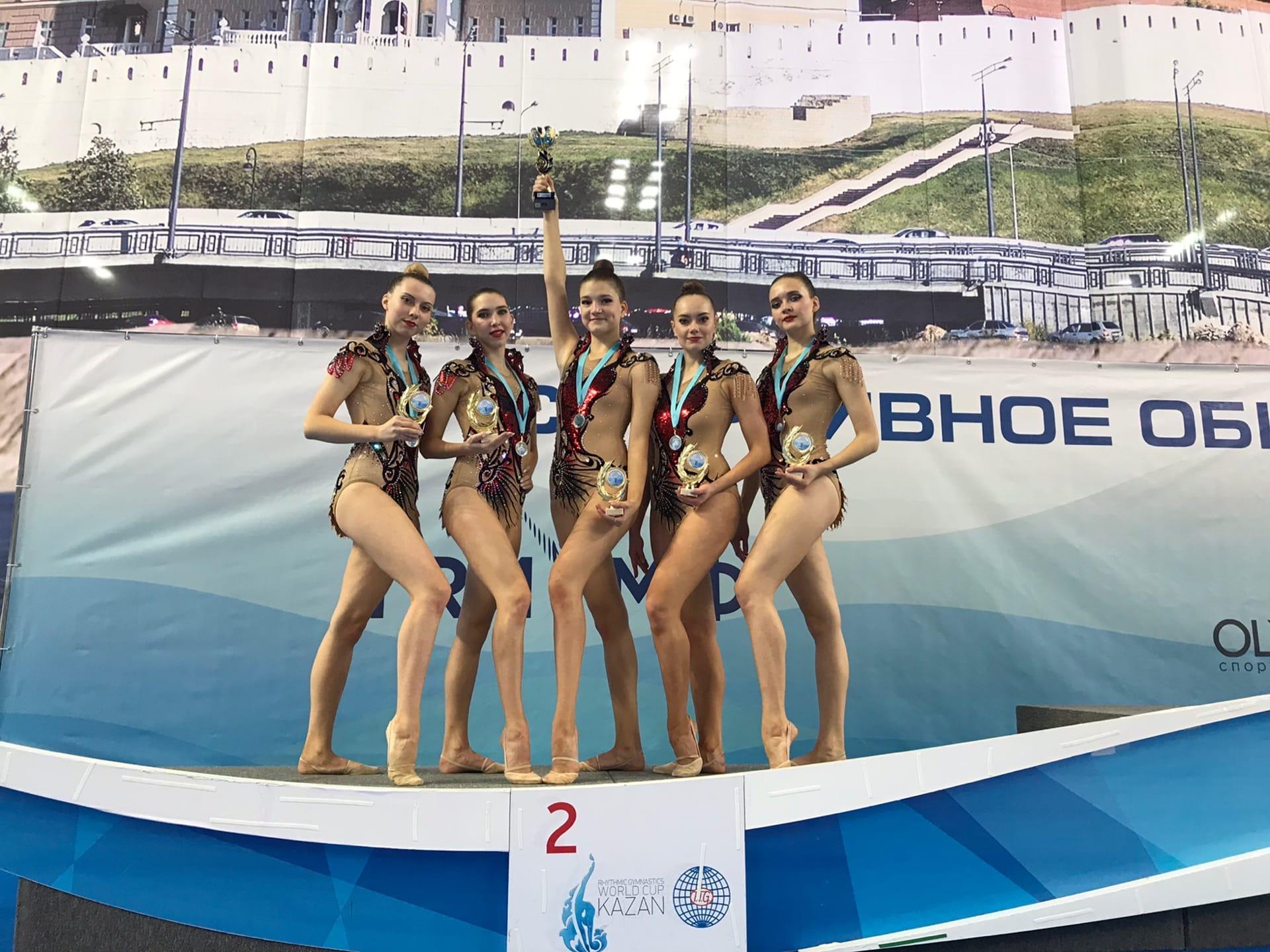 Можгинские гимнастки завоевали 2 место на Всероссийских соревнованиях