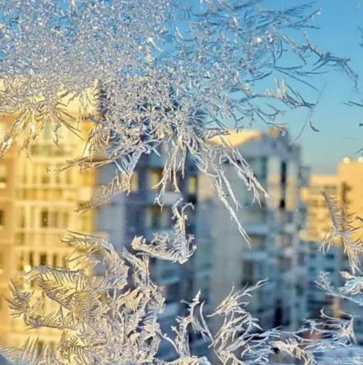 В Абакан идет мороз