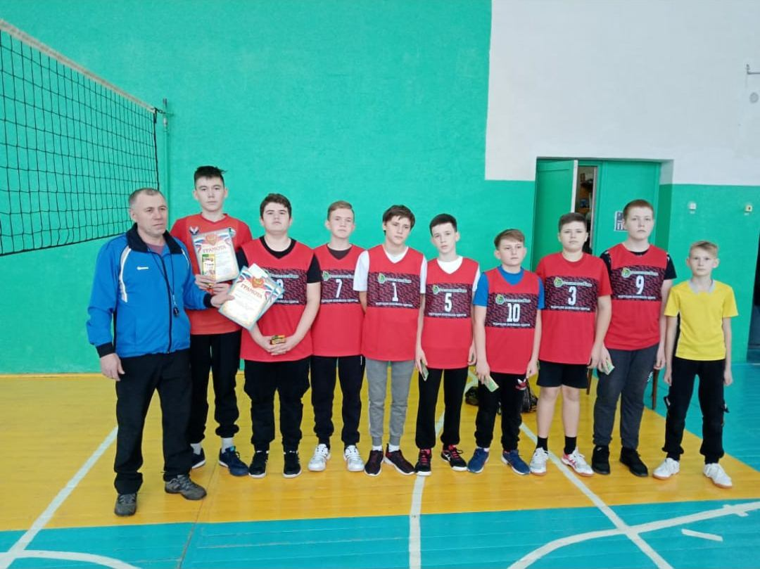 Первенство Можгинского района по волейболу состоялось в выходные