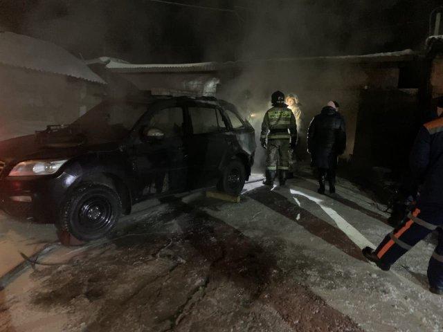 С начала 2021 года в Анжеро-Судженске зарегистрировано четыре пожара