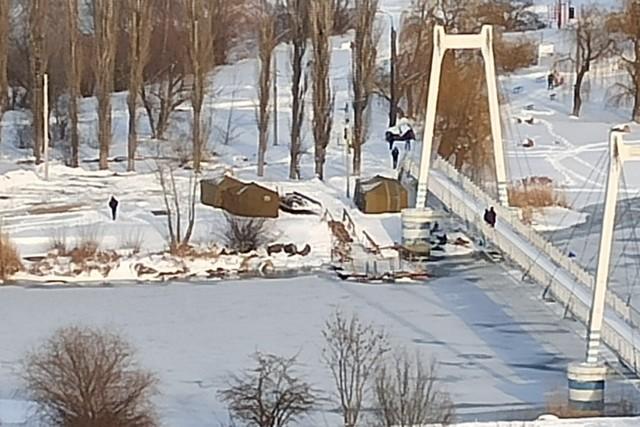 В Азове все готово к крещенским купаниям.