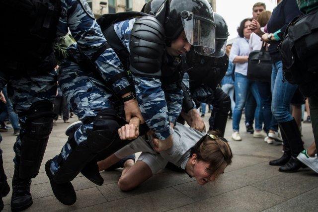 В МВД пообещали наказывать всех, кто призывает идти на протесты.