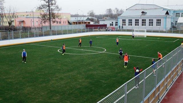 Физкультурно-оздоровительный комплекс открытого типа появится при школе №10 города Можги.