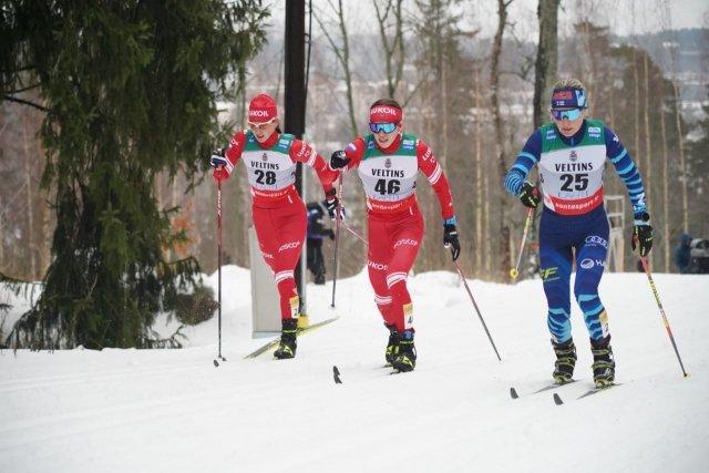 Можгинская лыжница Лилия Васильева стала 8-й в эстафете на Кубке мира.