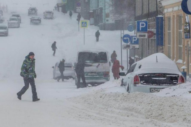 Озвучен «сценарий» разгула стихии в Приморье 28-29 января