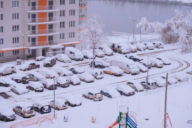 Пробки, снег, коллапс