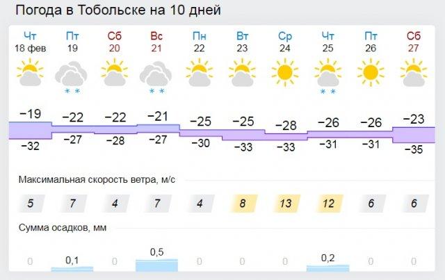 Холодно в Тобольске
