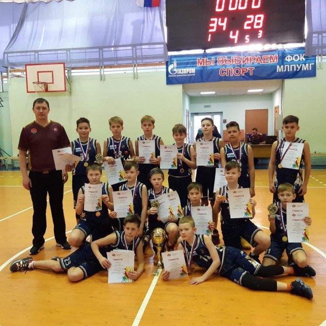 Наша баскетбольная команда «Виктория» одержала победу в Межрегиональном турнире