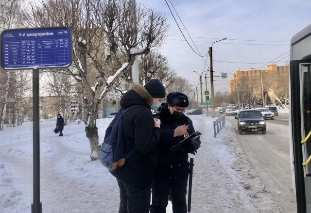 В Красноярске за месяц наказали 383 нарушителей масочного режима