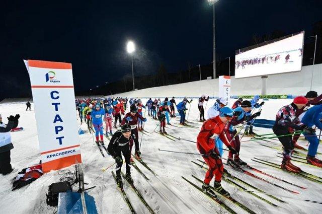 В лыжной гонке на 25 км приняли участие 123 человека