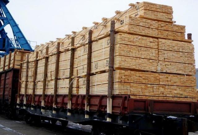 Поставки леса из Красноярского края перестали принимать в Китае