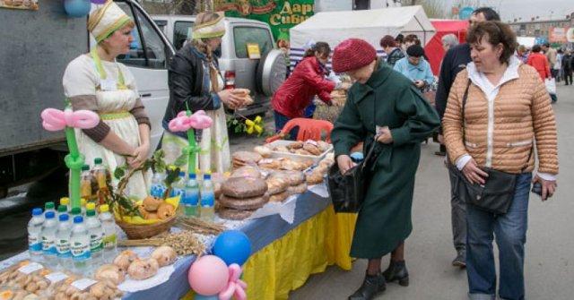 В субботу азовчан ждет продовольственная ярмарка.