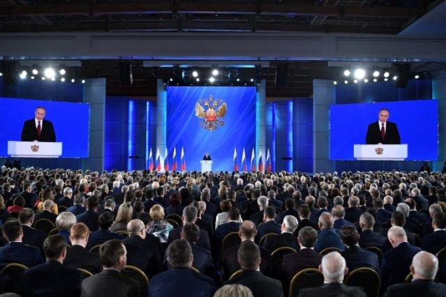 В Кремле назвали дату обращения Путина к Федеральному собранию