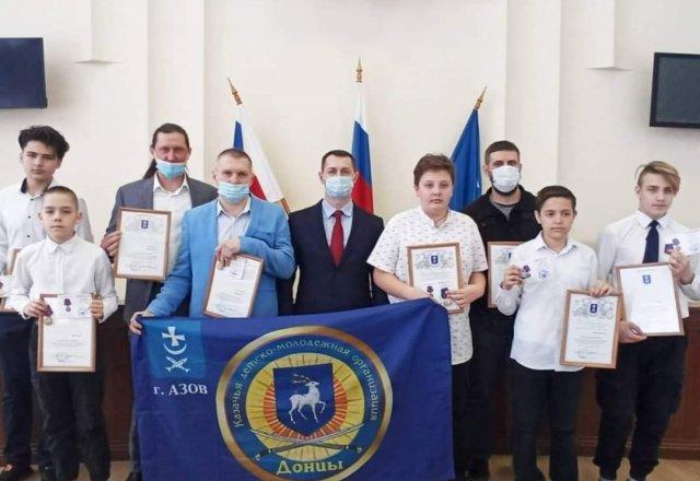 Владимир Ращупкин отметил Благотворительными письмами «Донцов»