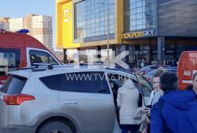 В красноярском ТЦ «ПокровSKY» загорелась обшивка
