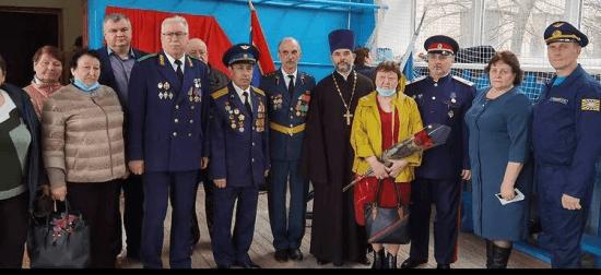 20 апреля в Азовском казачьем техникуме N82 состоялось торжественное открытие мемориальной доски