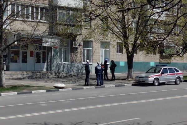 В Азове «заминировали» отделение «Единой России»