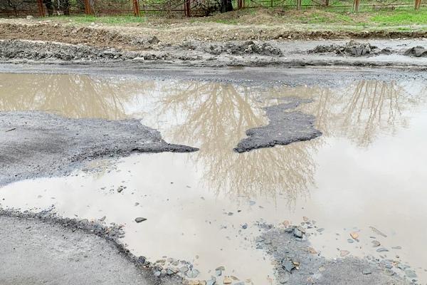 Переулок Степана Разина в Азове пообещали отремонтировать