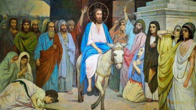 25 апреля – Вход Господень в Иерусалим. Вербное воскресенье. Поздравляем с Праздником!