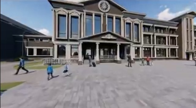Стало известно как будет выглядеть новая школа в мкр-не Ясный г. Азова