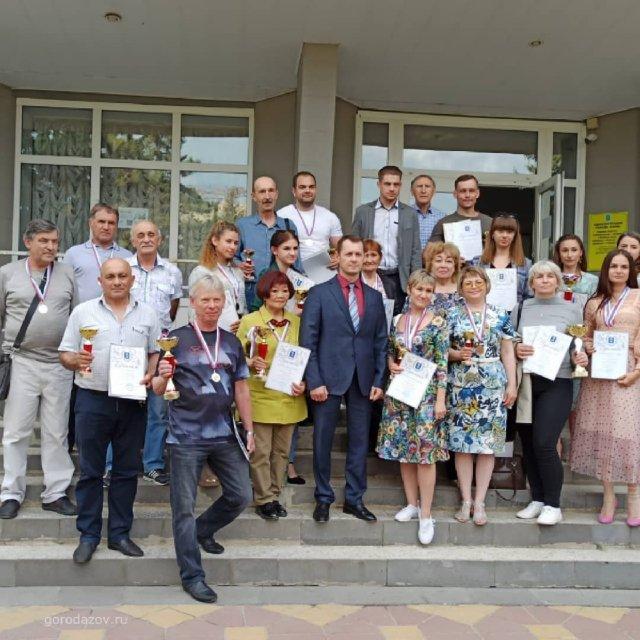 В администрации Азова прошёл торжественный приём победителей и призеров муниципального этапа Спартакиады Дона.