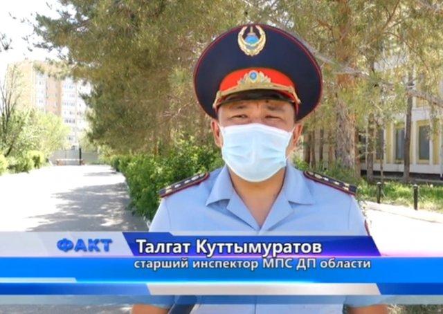 Местные полицейские проводят ОПМ « Безопасная дорога»