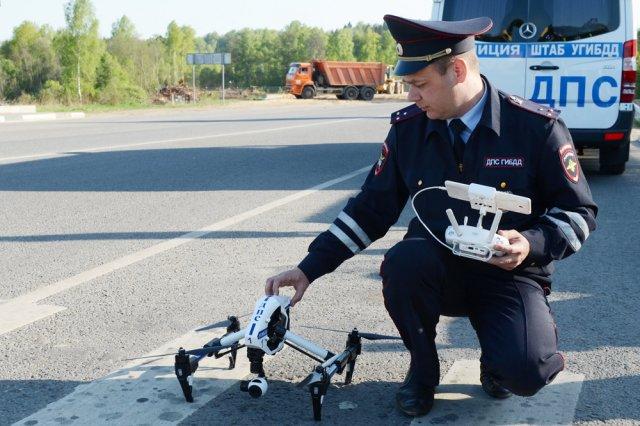 За нарушителями на дорогах Ростовской области будут следить беспилотники