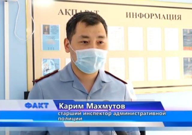 Сотрудники полиции выявили злостного нарушителя ПДД