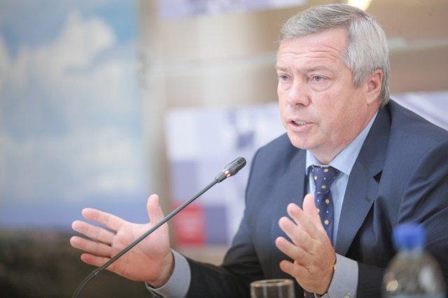 Губернатор Василий Голубев на хайпе.