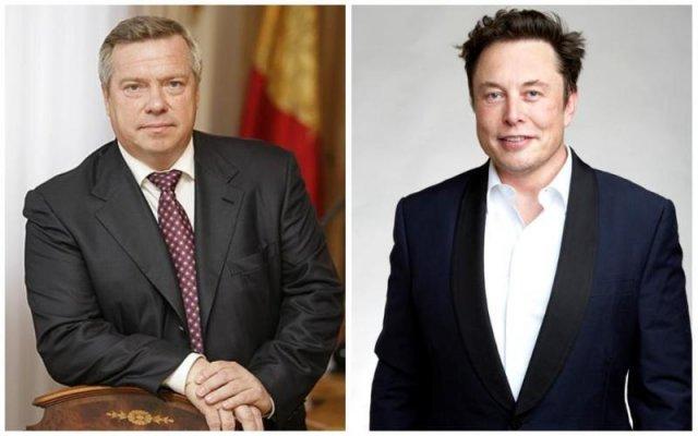 Губернатор Василий Голубев получил нагоняй от администрации президента за приглашение Илона Маска