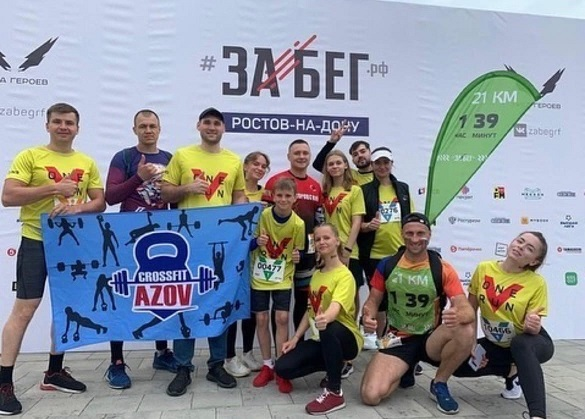 Азовчанин Андрей Ладыженский занял 2 место на «ЗабегРФ»