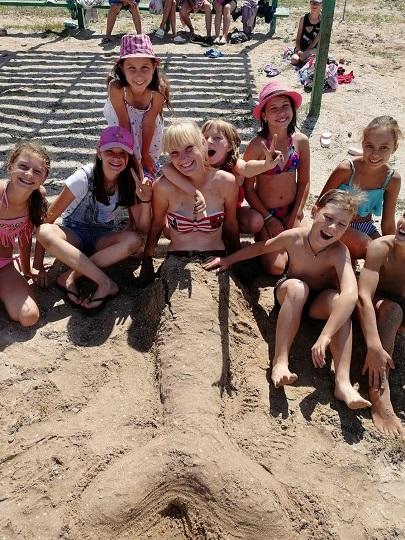 Дети в Азовском районе этим летом