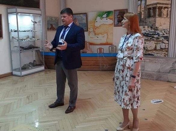 Экспозиция Азовского музея заповедника «Боспорское царство и Нижний Дон» выставлены в музее Феодосии