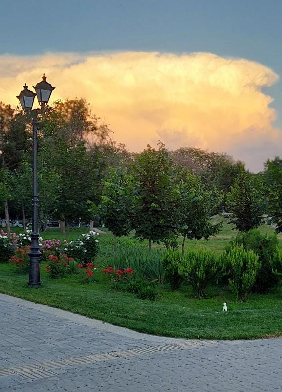 После праздничных выходных в Азов  вновь могут вернутся ливни