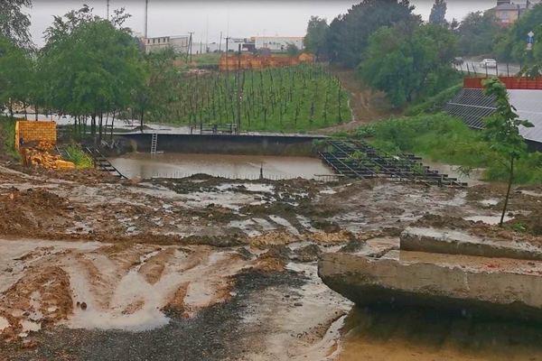 фото Оздоровительный комплекс медиамагната и  винодела из Азова превратился в болото