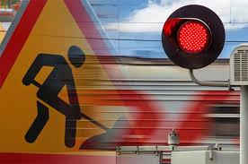 ⚠️Завтра, 29 июня 2021, в г. Азове движение через Пешковский железнодорожный переезд будет временно приостановлено