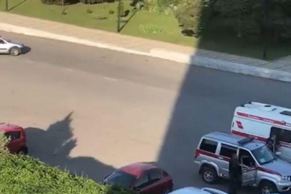 В Азове вчера эвакуировали отель «АМАКС» и филиал банка