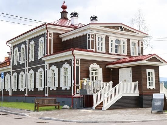 В Красноярске в Удачном, отреставрировали дом архиерея и создали там музей