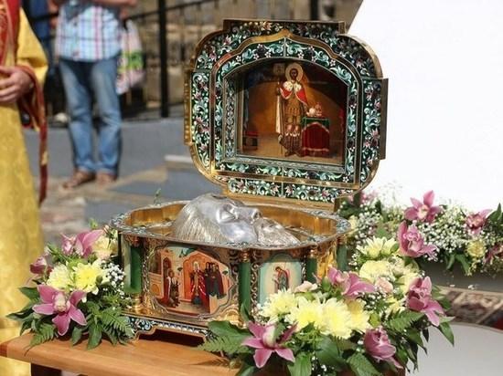 Мощи святого князя Александра Невского привезут В Красноярск  для поклонения
