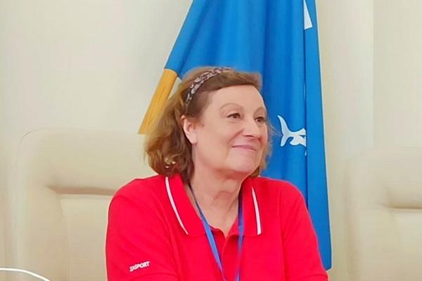 Тамара Быкова , чемпионка мира по прыжкам в высоту , родившаяся в Азове, побывала на малой родине