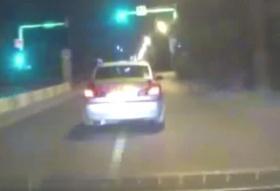 За пьяным Красноярцем вооруженная погоня ГИБДД попала на видео