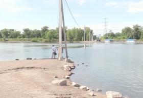 За восстановление моста между «Белыми Росами» и островом Отдыха Красноярцы начали сбор подписей